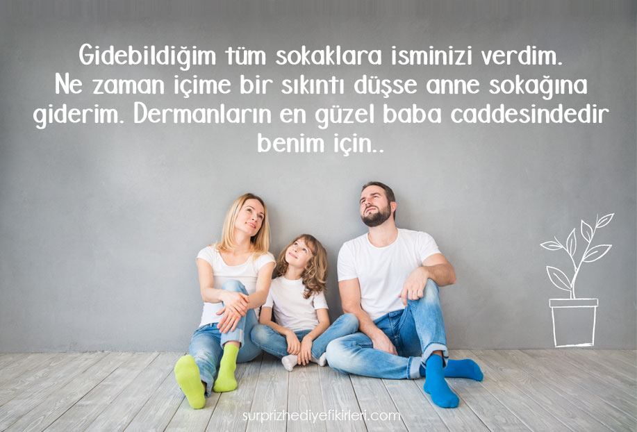aileye özlem sözleri