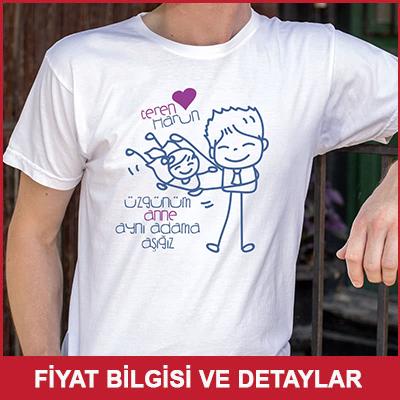 Kız Çoçuktan Babaya Hediye Esprili Tişört