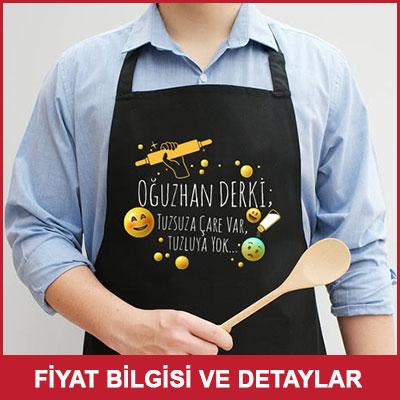 Mutfak Şefi Erkeğe Hediye Mutfak Önlüğü