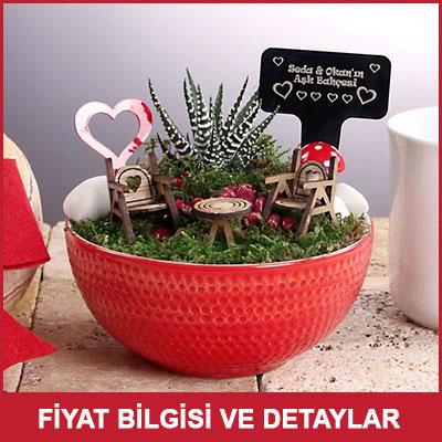 Sevgiliye Hediye Mini Bahçe
