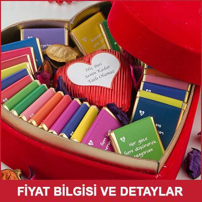 Kadına Hediye Seni Sevmemin 32 Sebebi Çikolata