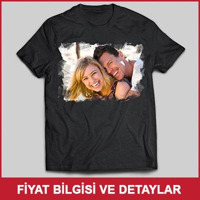 Erkeğe Sevgililer Günü Hediyesi Fotoğraflı Tişört