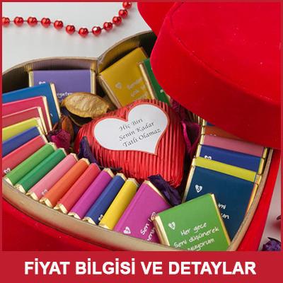 Erkek Sevgiliye Sıradışı Hediye Seni Sevmemin 32 Sebebi Çikolata