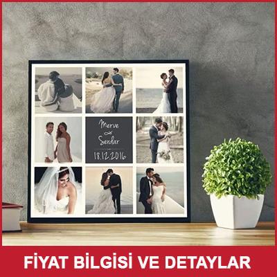 Evlilik Yıldönümü Hediyesi Kanvas Tablo