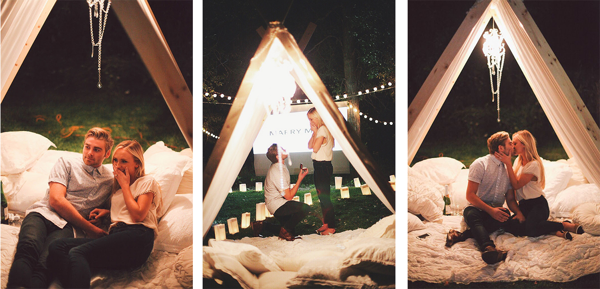 sürpriz evlenme teklifleri