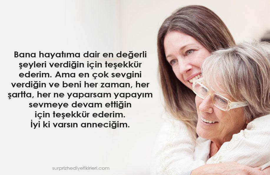 anneye özlem sözleri