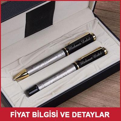 Atatürk Silüetli Kutulu Kalem