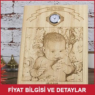 Bebek Hediyesi Ahşap Foto