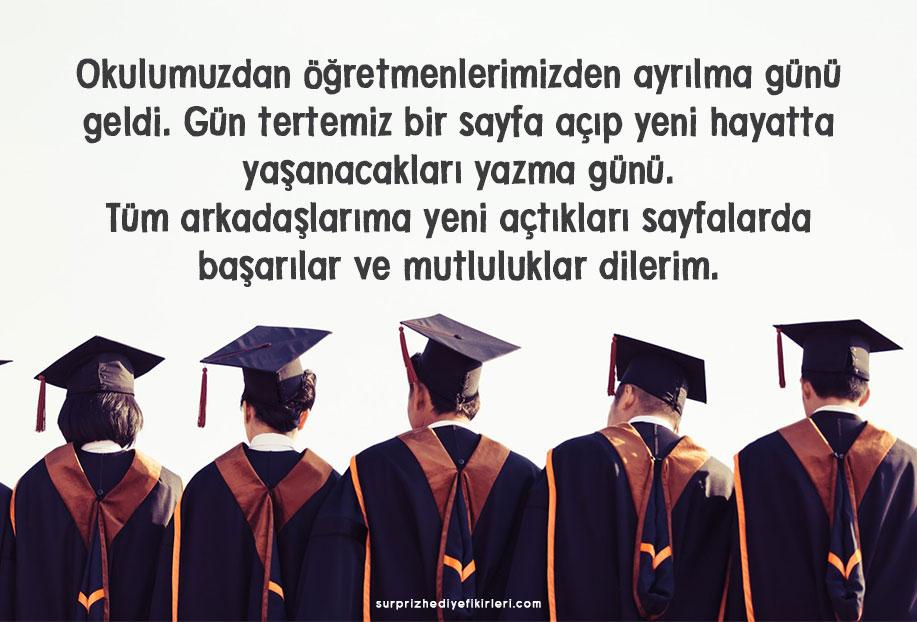 mezuniyet sözleri