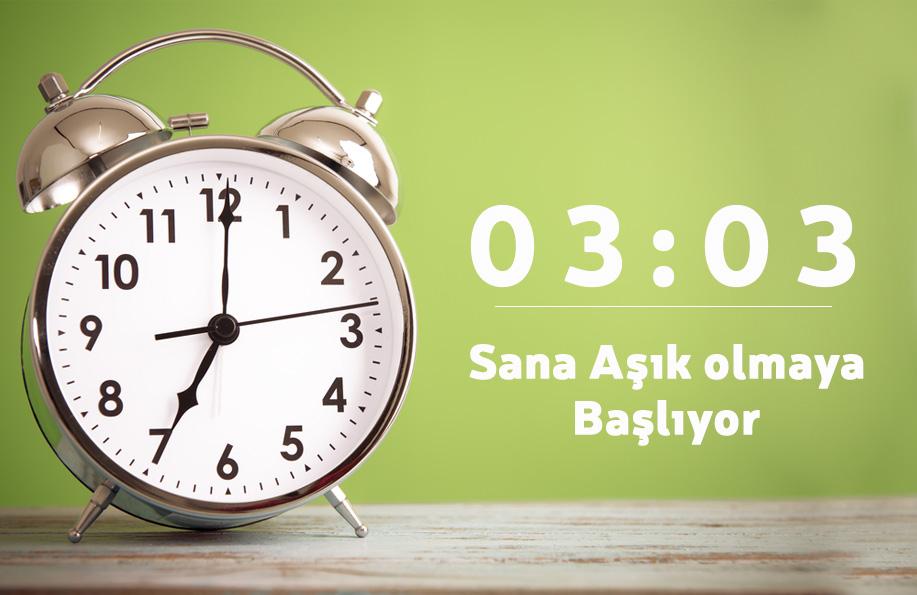 03 03 saat anlamı