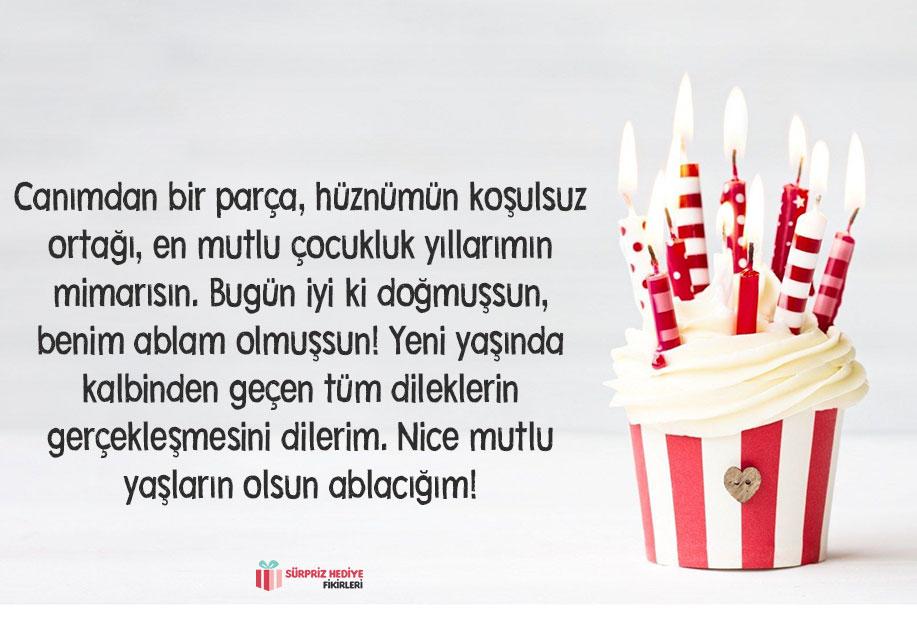 ablaya doğum günü mesajı