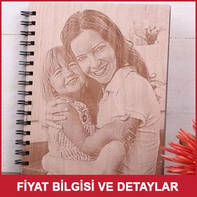 Fotoğraf Kazımalı Ahşap Albüm