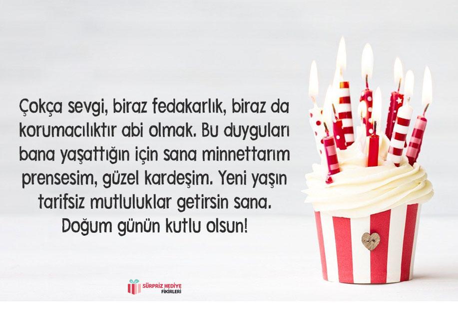 erkek kardeşe doğum günü mesajı
