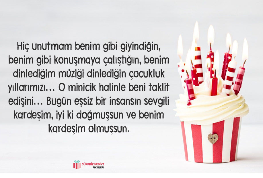 kardeşe doğum günü mesajı