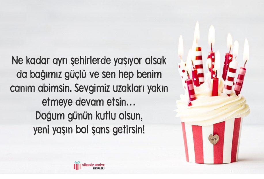 kardeşten abiye doğum günü mesajı
