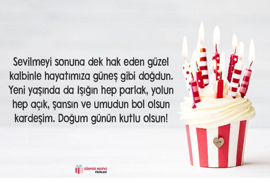 kardeşten ablaya doğum günü mesajı