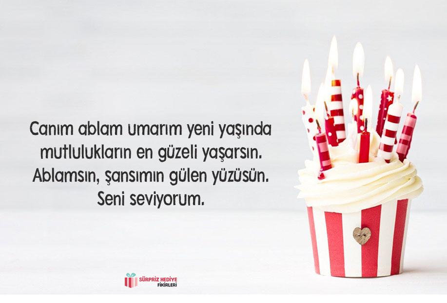 kız kardeşe doğum günü mesajı