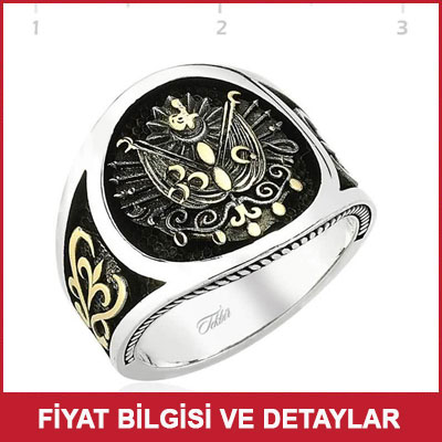 Babalar Günü Hediyesi Osmanlı Yüzüğü