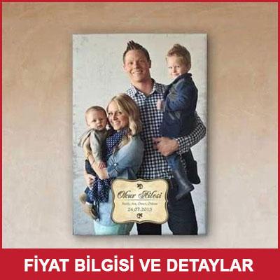 Aile Resminize Özel Baskılı Kanvas Tablo 40x60