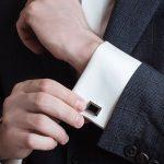 kol düğmesi harfli