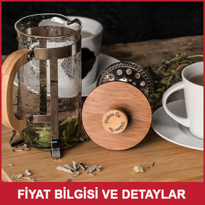 French Press Kahve ve Çay Filtresi