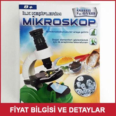 İlk Keşiflerim Çocuk Oyunu Mikroskop