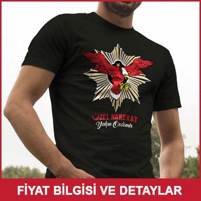 Özel Harekat Polislerine Özel Baskılı Tişört