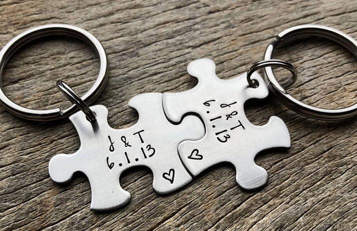 sevgili anahtarlıkları