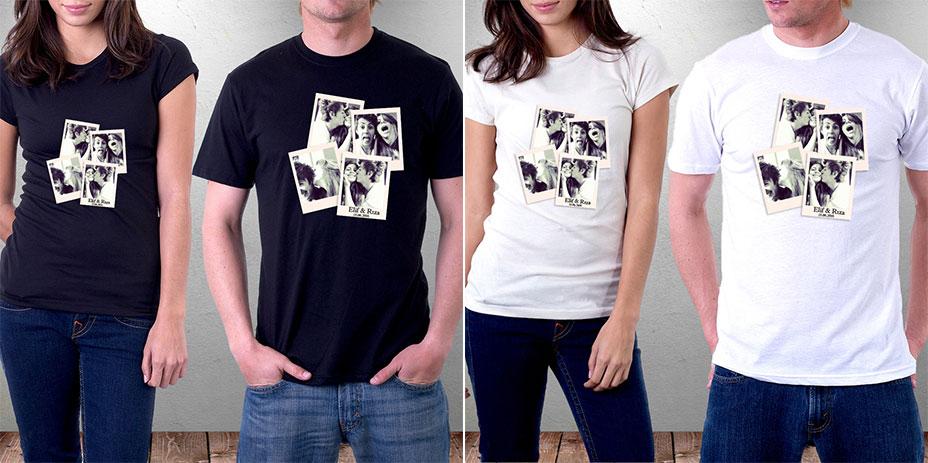 sevgili kombini tişört