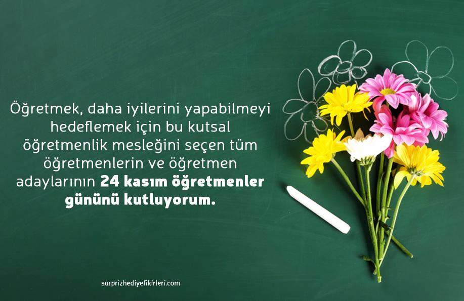 öğretmenler günü ile ilgili mesaj