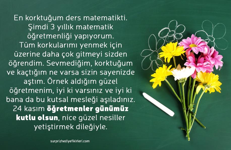 öğretmenler günü mesaji
