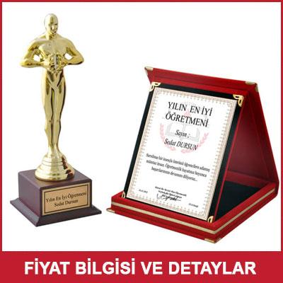Yılın En İyi Öğretmeni - Oscar ve Başarı Plaketi