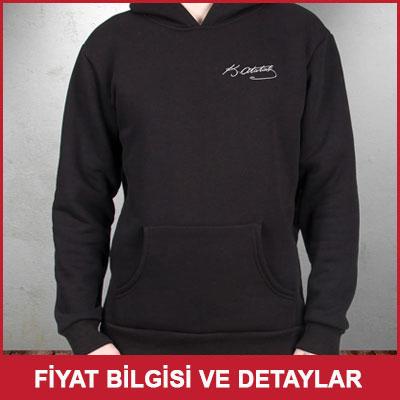 Atatürk İmzalı Sweatshirt