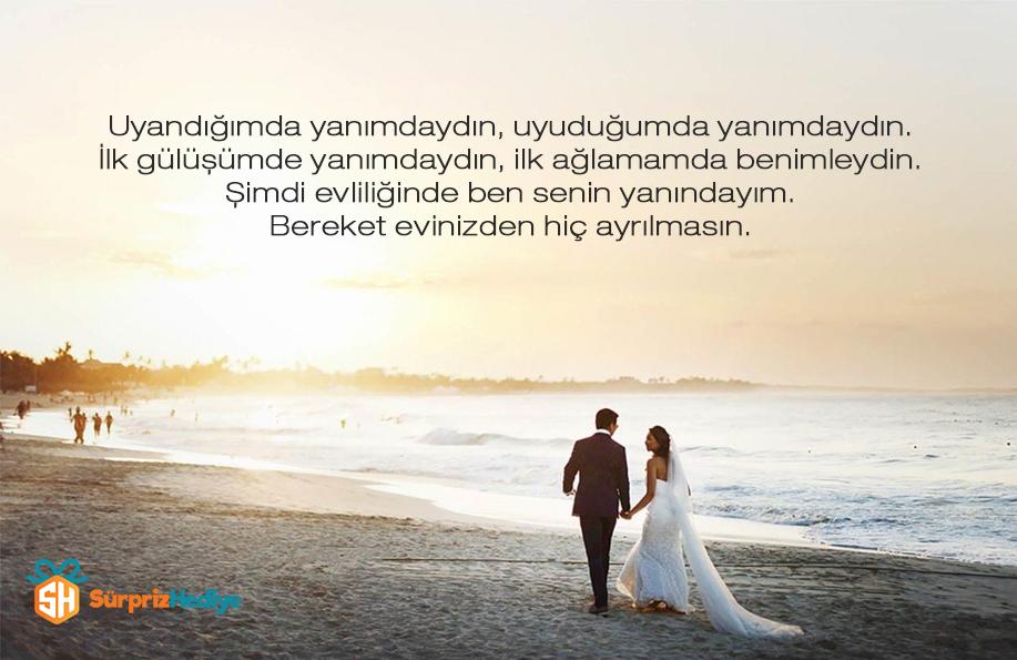 arkadaşa evlilik tebrik mesajları