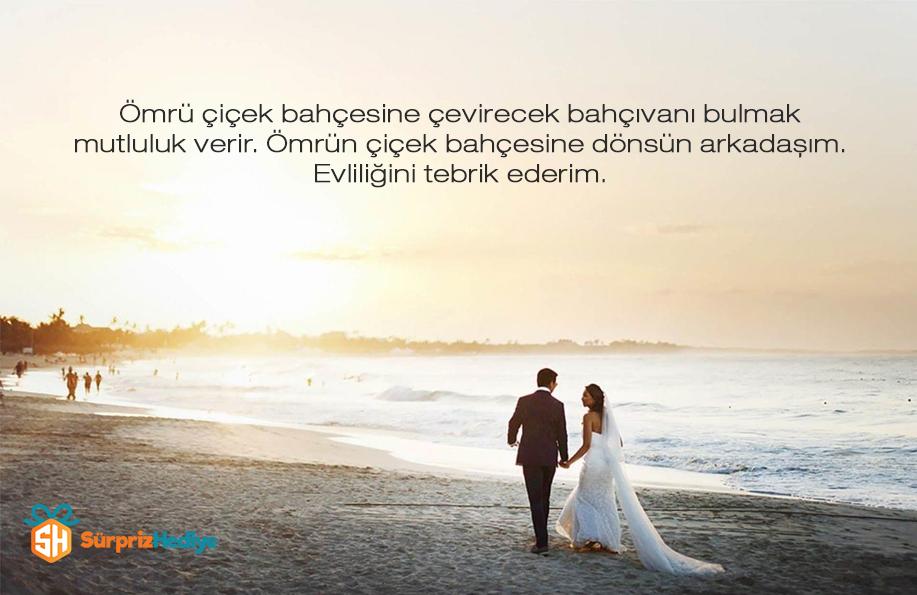 evlilik tebrik mesajları kısa