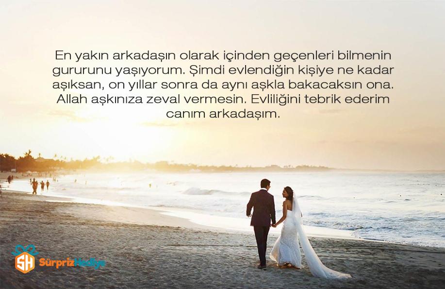 evlilik tebrikleri