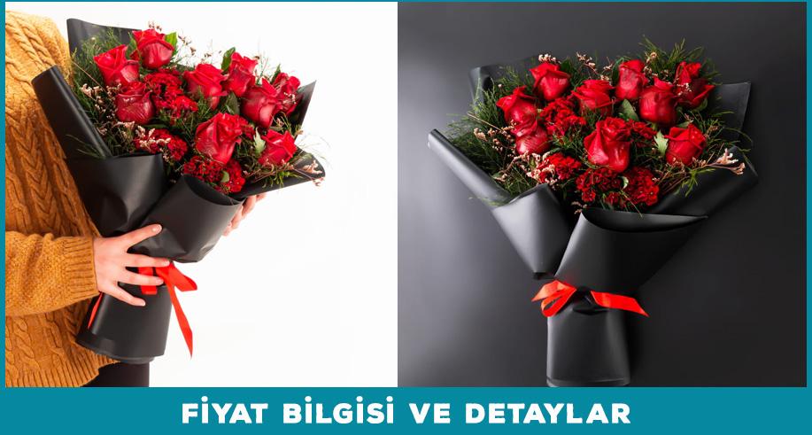 romantik hediye çiçek